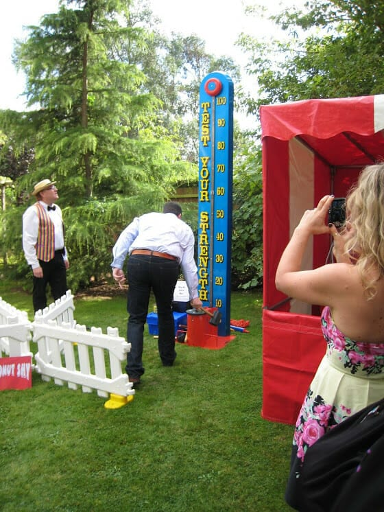 Entertainment for Garden Parties - Fun Fair Stall Hire