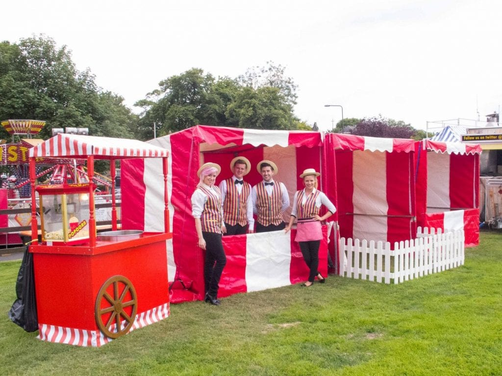 Wedding Entertainment - Traditional Funfair Side Stall Hire