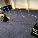 Giant Buzz Wire - Beat The Bleep - Indoor Game Hire