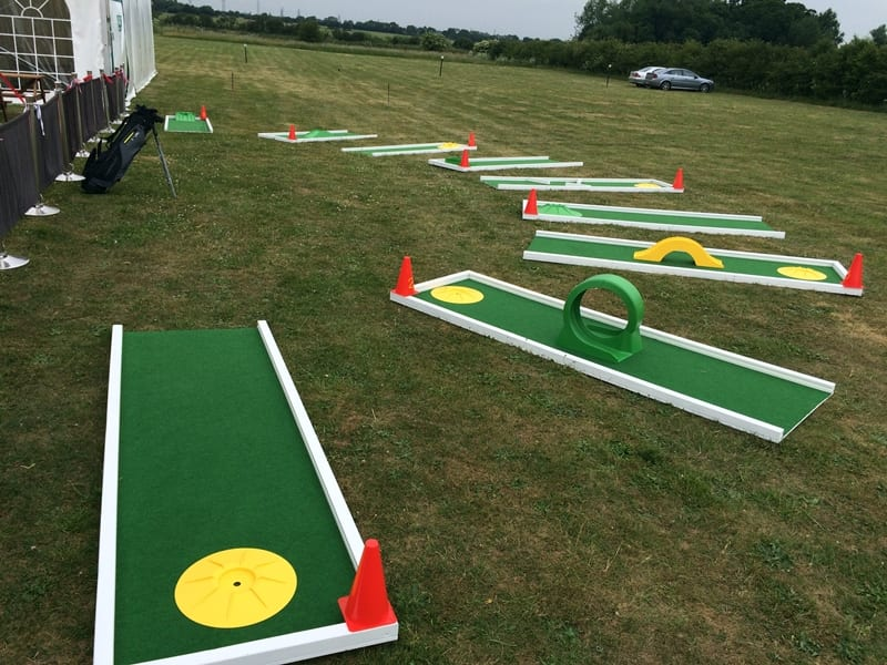 Family Fun Days - Crazy Golf Course Hire