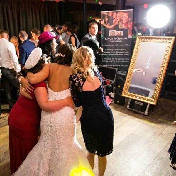 Wedding Magic Selfie Mirror Hire