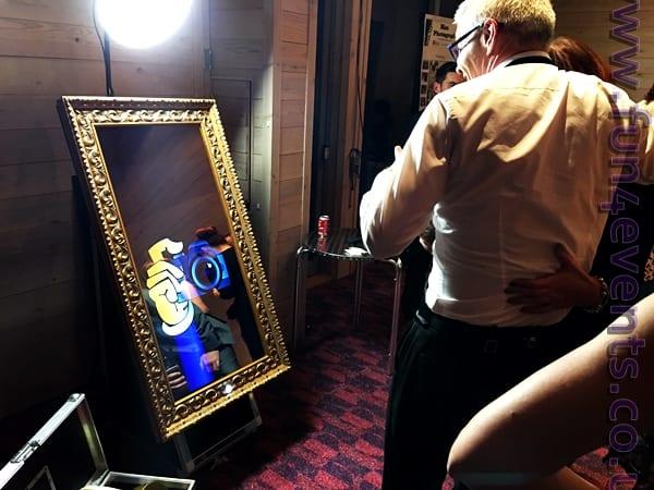 Magic Mirror Photobooth for Weddings