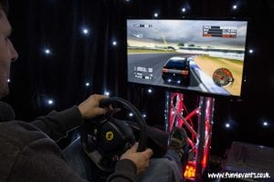 Two Player Racing Simulator Game