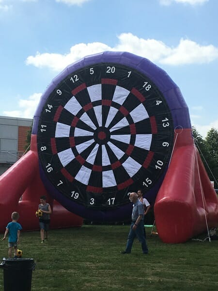 Inflatable Games for Family Fun Days and Events