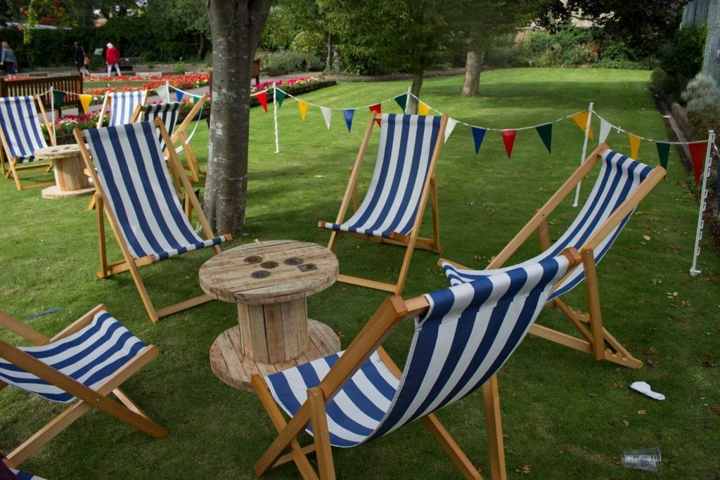 Deck Chair Hire & Seaside Deckchair Hire