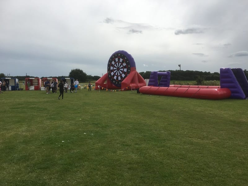 Rugby Darts and Human Table Football Hire