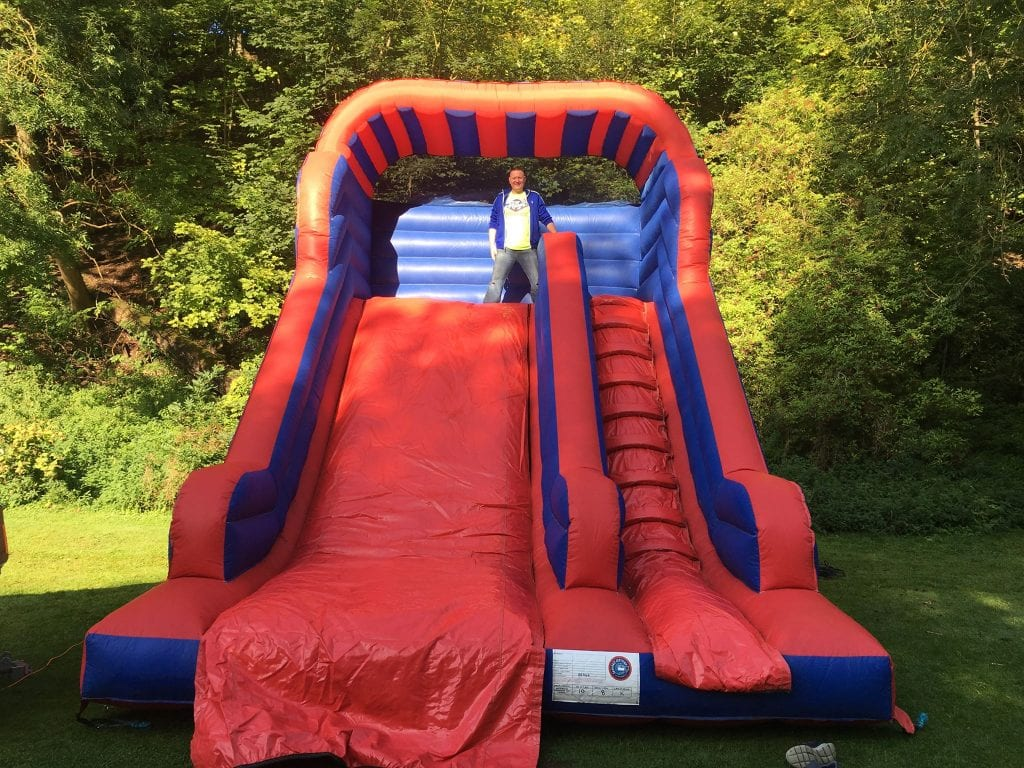 Inflatable Slide for Family Fun Days