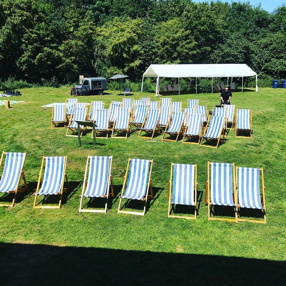 Traditional Folding Deck chair Hire