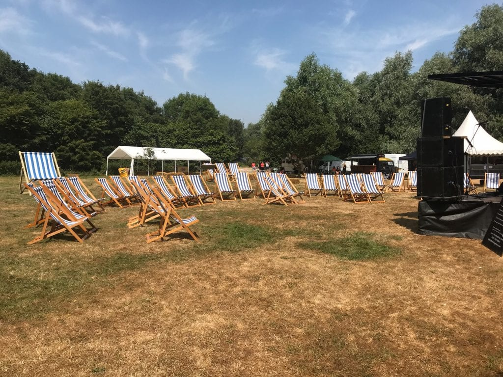Traditional Deckchair Hire