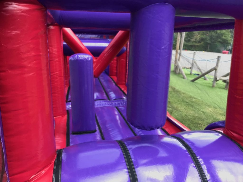 Inflatable Assault Course Hire - Fun4Events